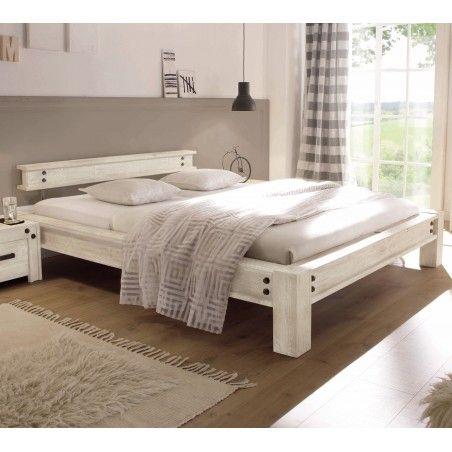 HASENA Factory Line Loft Stil Bett San Luca Akazie vintage white 180x200