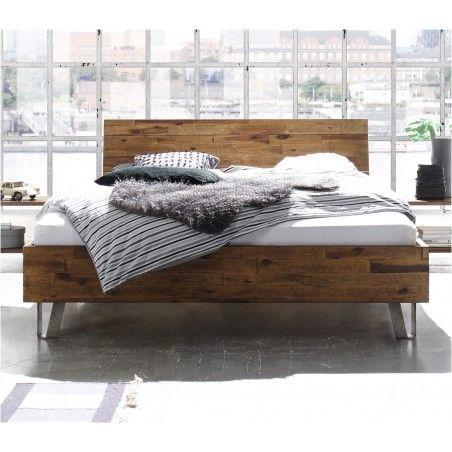 HASENA Factory Line Bett Dallas 23 Kopfteil Xara Füße Jeno 200x200