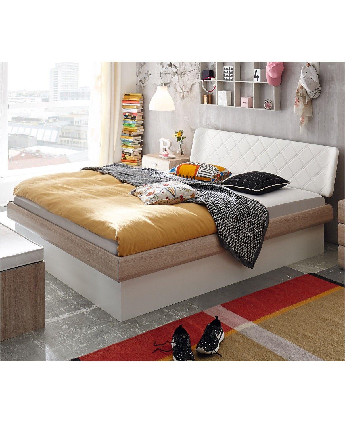 Hasena Soft Line Stauraumbett Practico Box Eiche Sägerauh Dekor 180x200