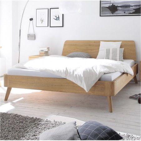HASENA Oak Bianco Eiche Bett Masito 25 Kopfteil Edda 90x200