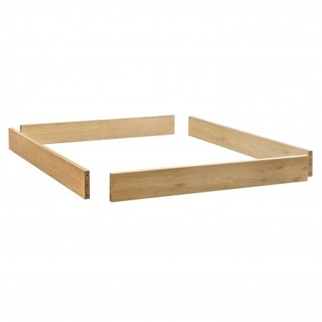 HASENA Oak Bianco Bettrahmen Modul 18