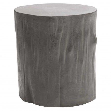 HASENA Beton Nachttisch Beistelltisch Tree grey grau