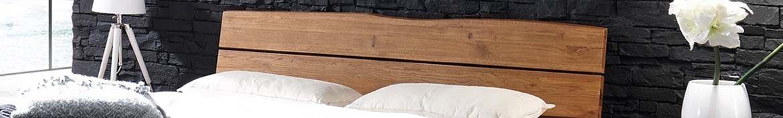Hasena Oak Wild Kopfteile Wildeiche massiv oder gepolstert