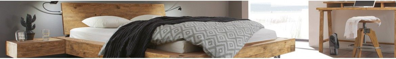 Holzbetten, Bettgestelle mit und ohne Kopfteil | iodormo
