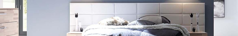 Hasena gepolsterte Wandpaneele für Oak Stone grey Betten und Möbel
