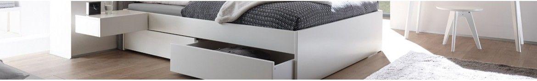 Stauraumbetten mit Bettkasten und Schubladen | iodormo