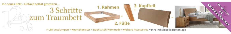 Mit dem Hasena Betten Konfigurator zum Traumbett