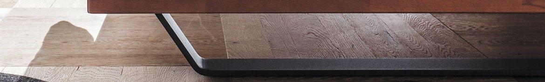 Hasena Wood Line Füße aus Holz und Metall für Wood Line Bettrahmen