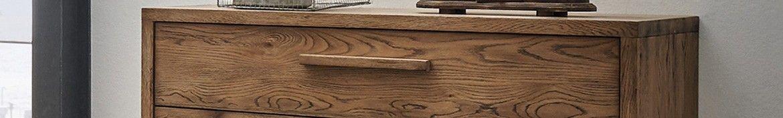 Hasena Oak Vintage Kommoden und Nachtkonsolen aus Wildeiche massiv