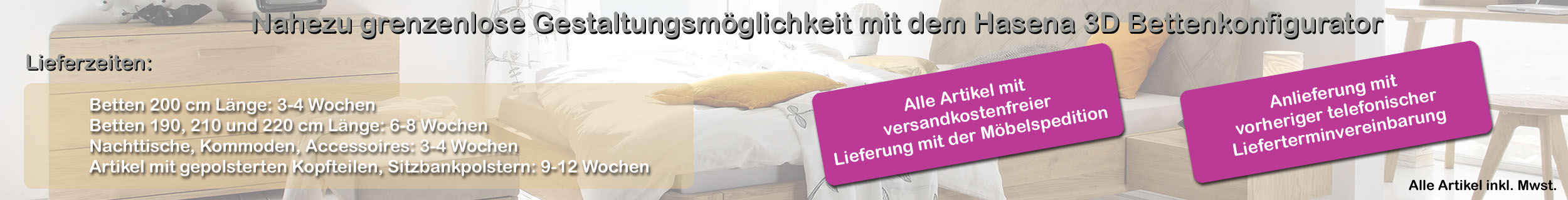 Hasena 3D Betten Konfigurator | iodormo